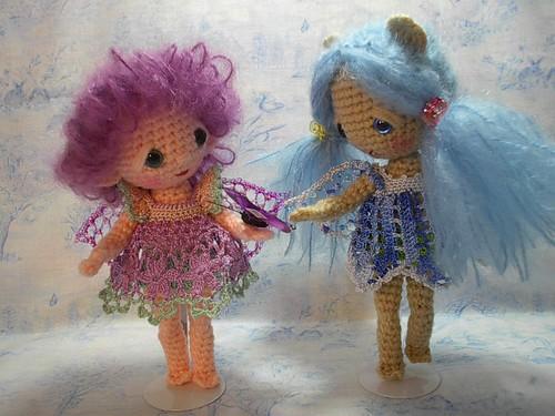 LaceDressBlue&Violet