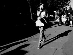 It's good to talk (Ian Brumpton) Tags: street blackandwhite bw london blancoynegro blackwhite noiretblanc candid streetphotography bodylanguage highcontrast citystreets steppingout sidewalkstories walktalk londonstreetphotography itsgoodtotalk lifeinslowmotion scattidistrada aimlessstrolling blackwhiteheartbeats