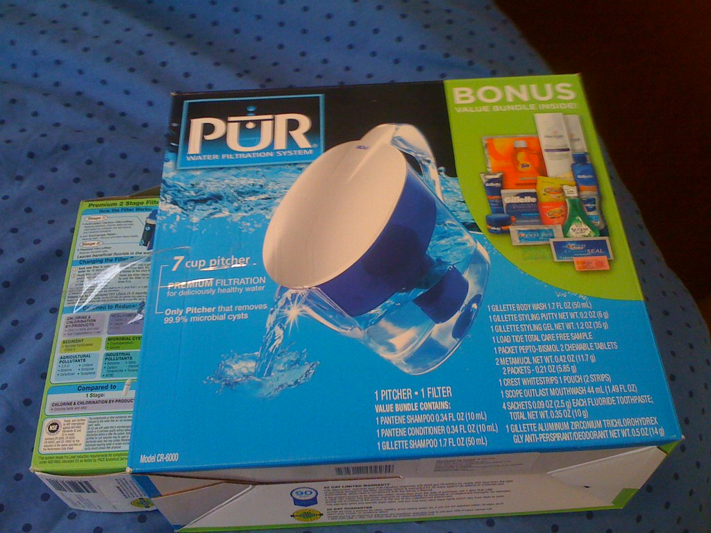 Pur Water Filtration System (with filter)-$10