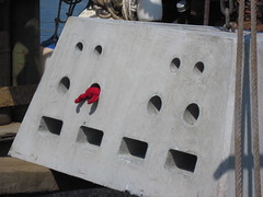 New lobster mooring - close-up