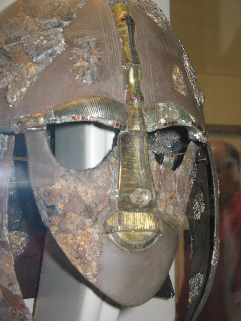 London: British Museum - Sutton Hoo Helmet - 6th-7th Century