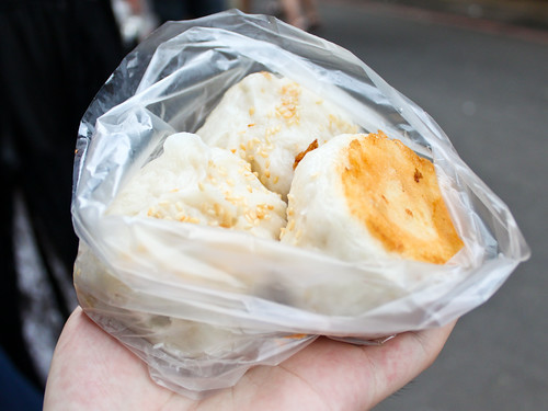 生煎包 crust