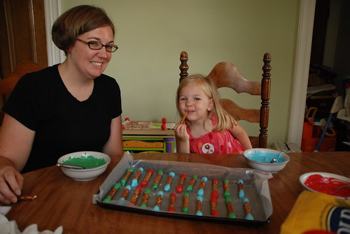 Making Edible Crayons with Eva