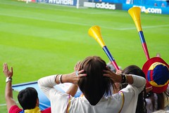 Vuvuzela-Time in Bielefeld