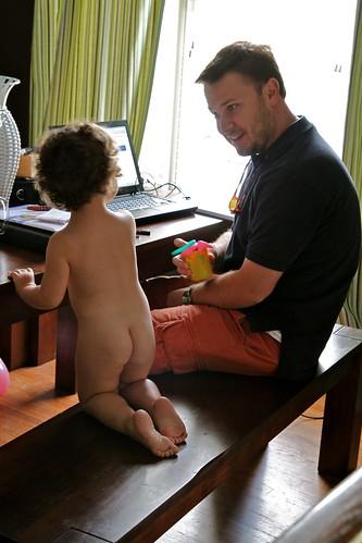 naked visit