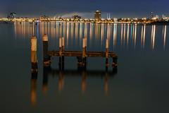 No Mans Land (Grant Brodie Photography) Tags: longexposure sky water night nikon dynamic creative dramatic australia melbourne urbanlandscapes 2010 d80 nikond80 grantbrodie