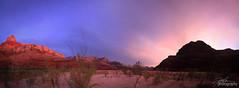 Sunset at North Canyon Creek, Grand Canyon
