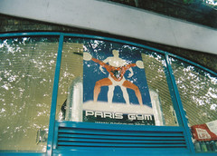 probably the greatest logo ever (joecooke) Tags: paris logo gym bumming flaxxik