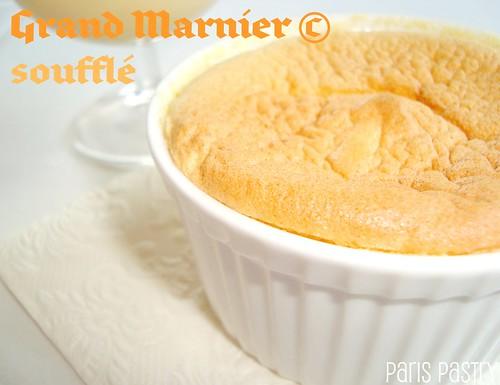 Grand Marnier Soufflé with Crème Anglaise