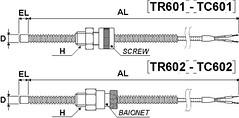 TC601/2 - TR601/2