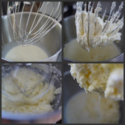 Cultured butter - Mixing