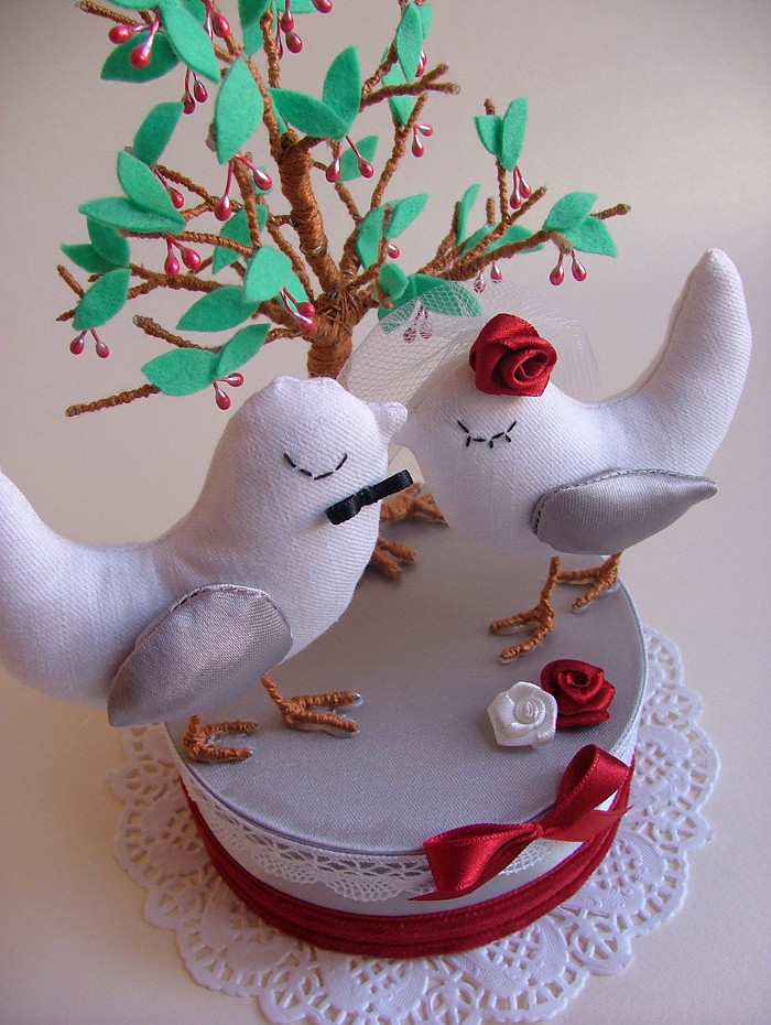 Cake topper by Pinga Amor