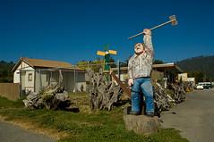 lumberjack, Orick (philippe*) Tags: california usa nikon d2x
