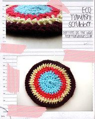 Living Well: Fidget A Pot Scrubber Pattern!
