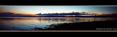 balmerino (E.........'s Diary) Tags: sunset river scotland calm tay watercolour gloaming balmerino