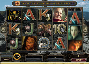 The Lord of the Rings slot game online review