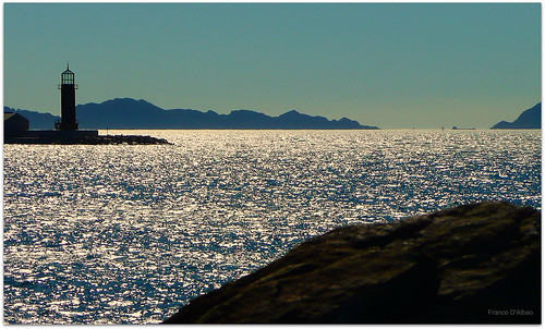 Ondas do mar de Vigo *
