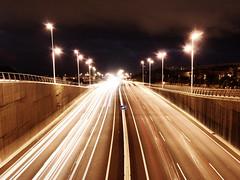 Warm (Estrella de Queso) Tags: road espaa cars spain highway carretera canarias autopista tenerife canaryislands coches tf5
