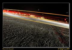 Yellow speed (nhadda) Tags: paris night speed headlights spinning bp nuit paved vitesse pavingstone fil pav phares baladesparisiennes