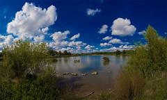 Rushcliffe Park (RawsonPhotography) Tags: park blue trees sky cloud lake water pond ben country rawson rushcliffe canon40d benr1978 benspicscouk