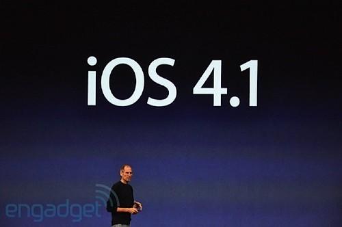 Apple iOS 4.1 Steve Jobs