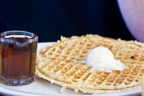 larry's waffle