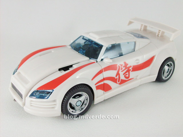 Transformers Drift Generations Deluxe - modo alterno