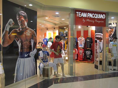 Manny Pacquiao store