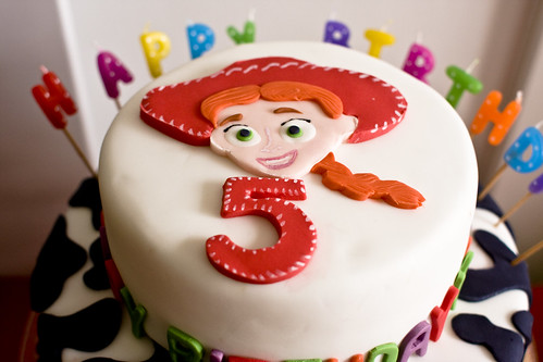 Toy Story Jessie Cake for 5th birthday