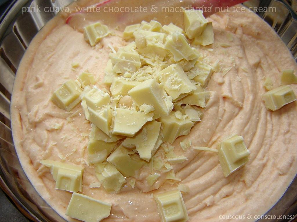 Pink Guava, White Chocolate & Macadamia Nut Ice Cream 1, edited
