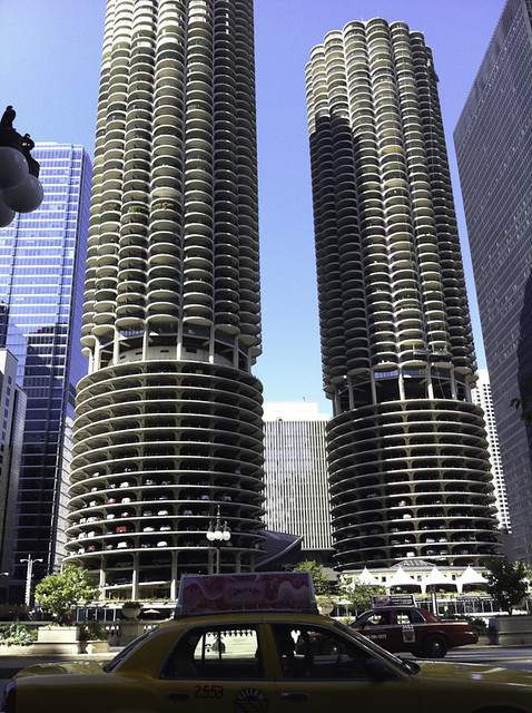 Marina City, Chicago : i've always loved these towers