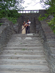 Stairs at Taughannock park
