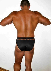 Operator123 - back (Dreier3) Tags: back muscle bodybuilding bodybuilder glutes operator123