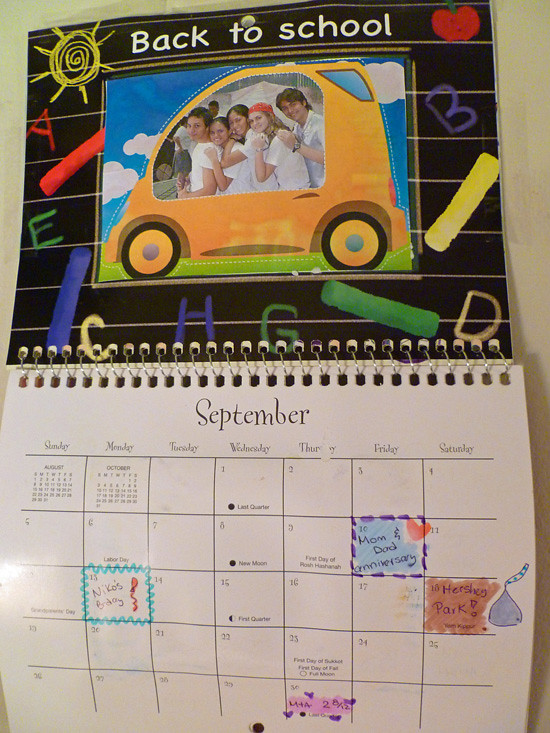 Calendar Craft - September