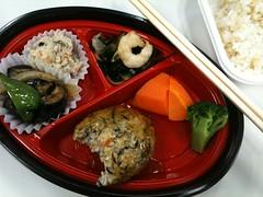 100908 豆腐ハンバーグなお弁当