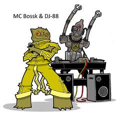 MC Bossk & DJ-88