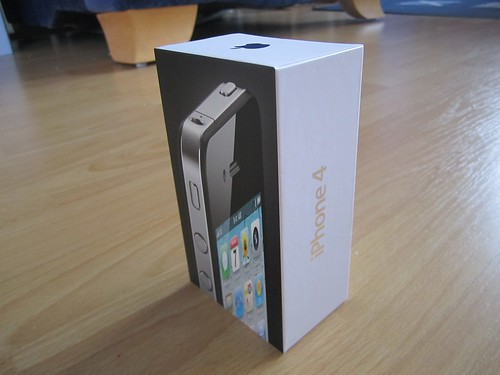 Lookit, my iPhone arrived!