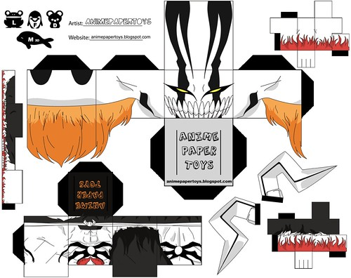 ICHIGO VASTO LORDE (BLEACH)