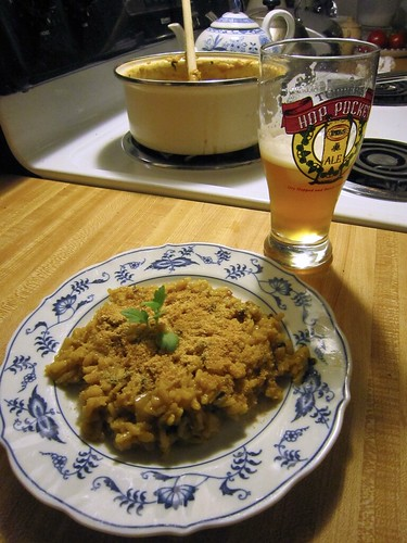 Risotto and ale