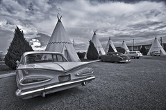 The Wigwam Hotel, Holbrook, AZ (Matt Granz Photography) Tags: arizona classic cars hotel route66 nikon historic tokina teepee 1224mm holbrook wigwam d90