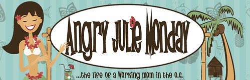Current Angry Julie Monday Blog Design
