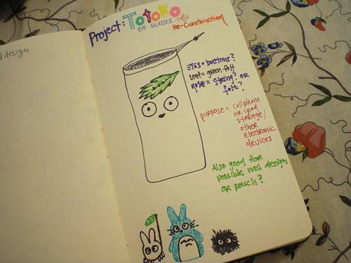 totoro-doodle