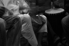 Telouet (Morocco) - Concert in the restaurant 4 (AnyRoadAnywhere) Tags: africa blackandwhite bw musician music mountain blancoynegro monochrome nikon village noiretblanc drum morocco berber maroc atlas marruecos percussions noireetblanc negroyblanco d90 maghrib telouet ilobsterit