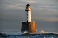 Rattray Head lighthouse, Aberdeenshire, Scotland (iancowe) Tags: morning sea lighthouse sunrise scotland day aberdeenshire cloudy head board north scottish stevenson northern buchan stfergus peterhead rattray nlb crimond wbnawgbsct