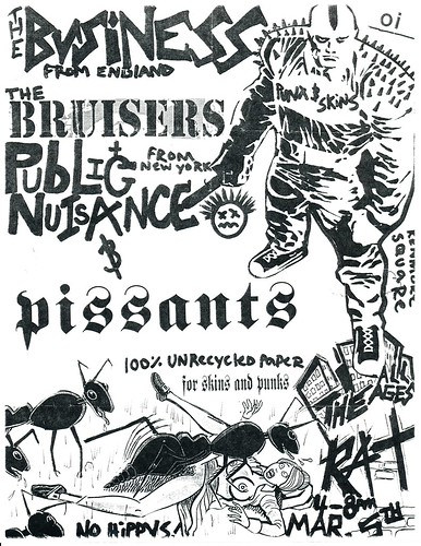 The Business, The Bruisers - The Rat - March 5th
