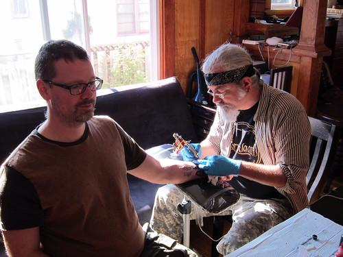 Getting New Tattoo - 1