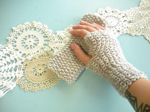merino wrist-warmers