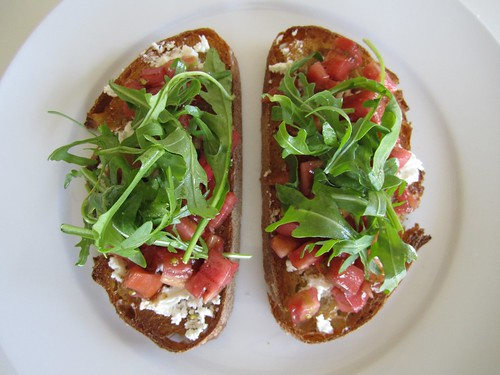 Fresh Summer Tartine
