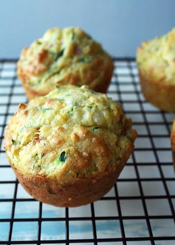 Gluten Free Scallywag_Zucchini Ham Corn Muffins
