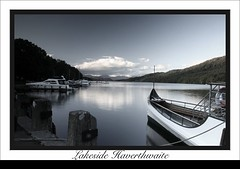 Lakeside Haverthwaite (Ng Photography (Neilsvrx)) Tags: slr water canon relax landscape 350d boat cool view neil lakeside canon350d haverthwaite lakedistric neilsvrx ngandy